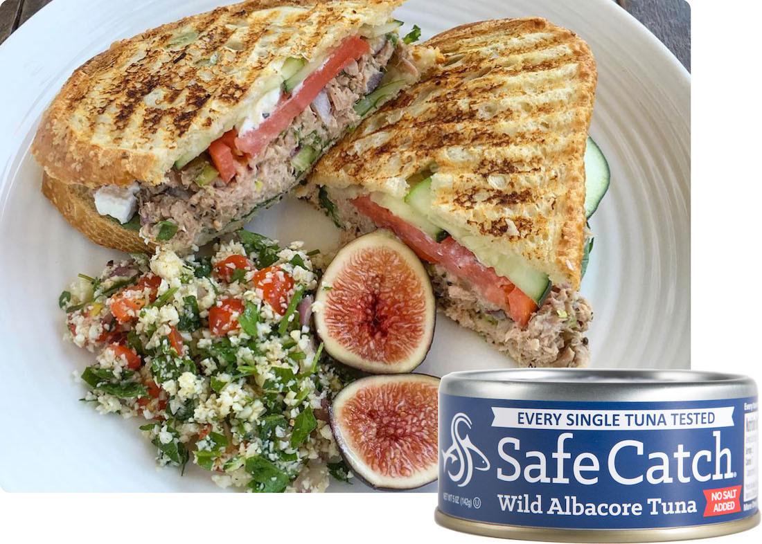 Safe Catch Albacore no salt Tuna 12 pack box