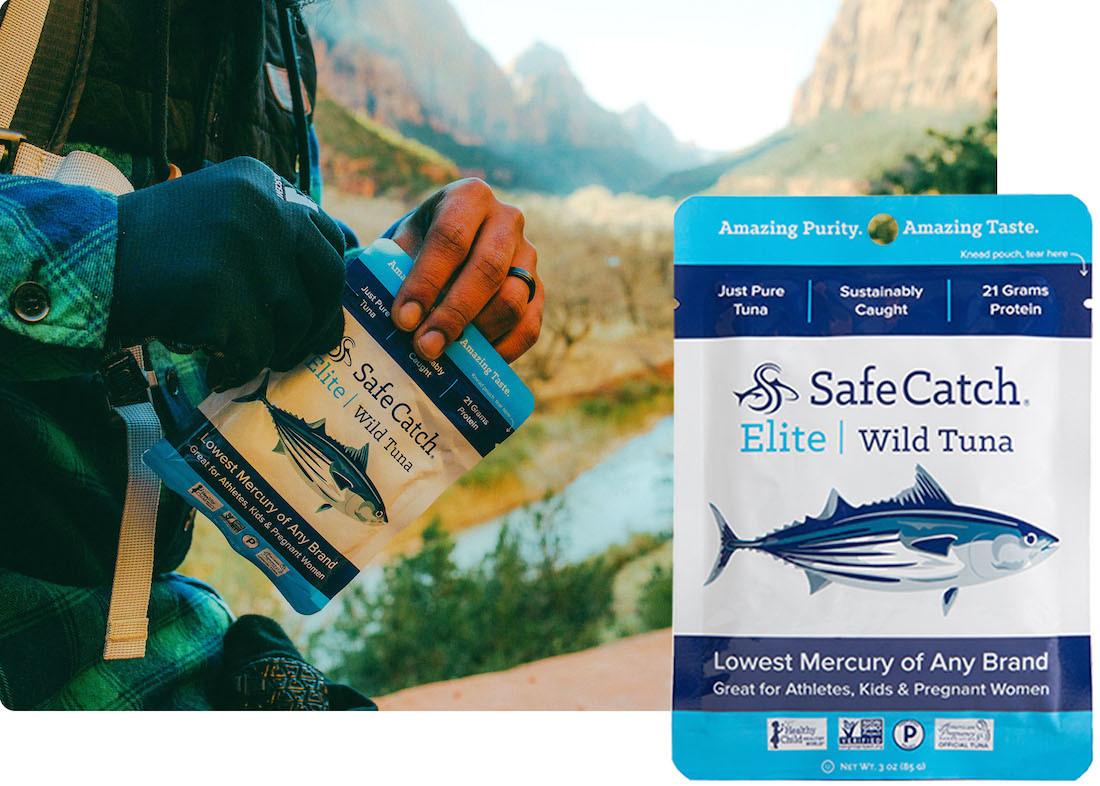Safe Catch Elite Wild Tuna 3oz pouch box of 12