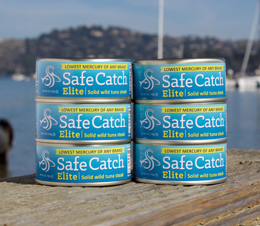 Safe catch elite canned tuna the lowest mercury of any brand for Lowest mercury fish