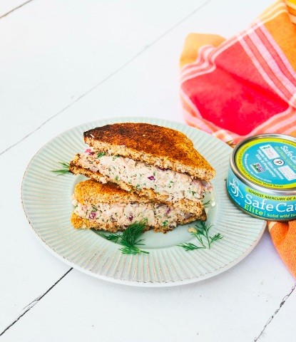 tone it up tuna salad sandwich
