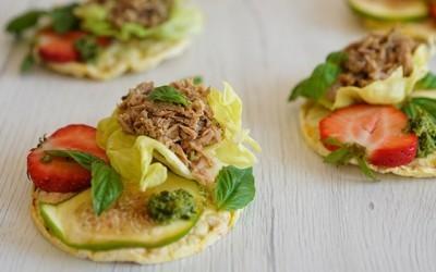 New Recipes: Tuna Bruschetta and Paleo Tuna Salad