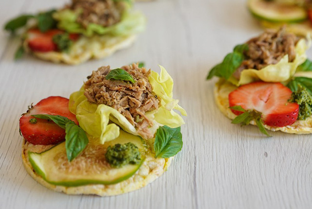 New Recipes: Tuna Bruschetta and Paleo Tuna Salad