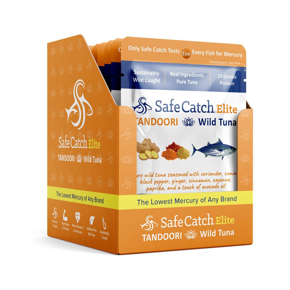 Seasoned Elite Tuna Pouch 12 Pack - Tandoori