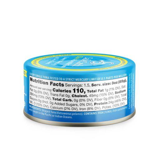 Elite Wild Tuna Can Nutrition