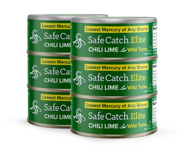 Elite Wild Tuna Chili Lime 6 Can Stack