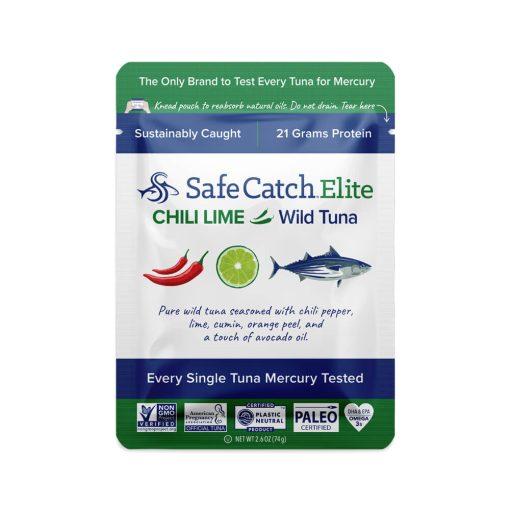 Elite Wild Tuna Chili Lime Pouch Front