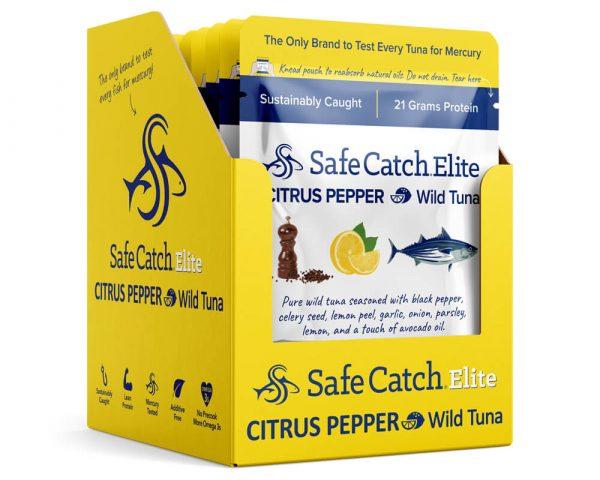 Elite Wild Tuna Citrus Pepper Pouch Caddy