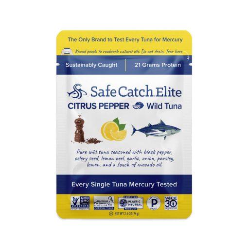 Elite Wild Tuna Citrus Pepper Pouch Front