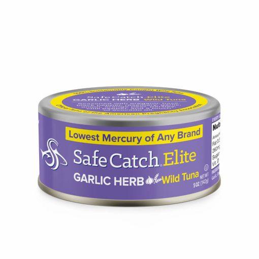 Elite Wild Tuna Garlic Herb Can Front