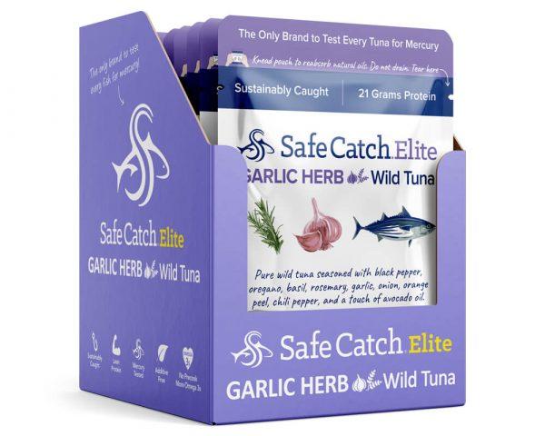 Elite Wild Tuna Garlic Herb Pouch Caddy