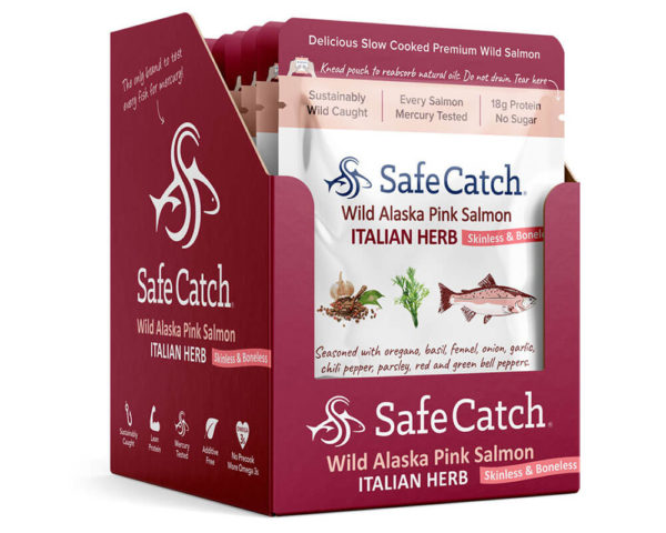 Italian Herb Wild Salmon Caddy