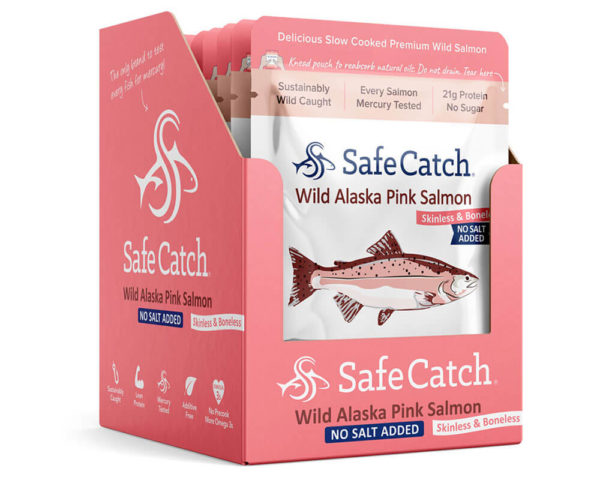 No Salt Added Wild Salmon Caddy