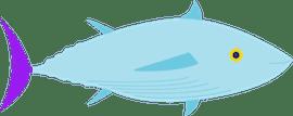 Lower Mercury Tuna Illustration