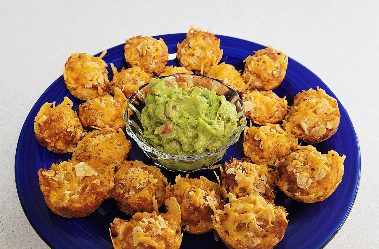 Tuna Taco Bites
