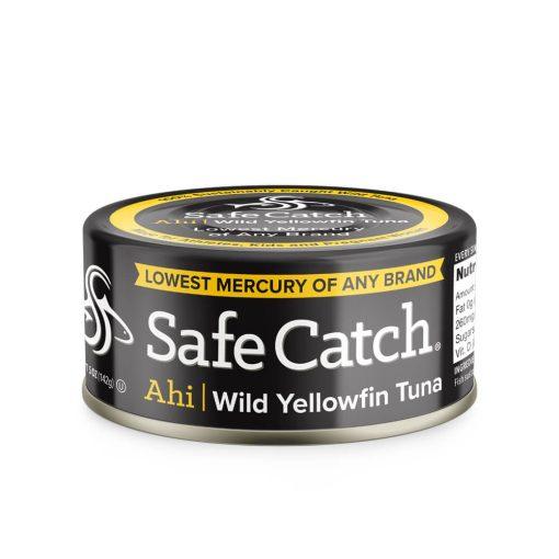 Wild Ahi Yellowfin Tuna Can Front