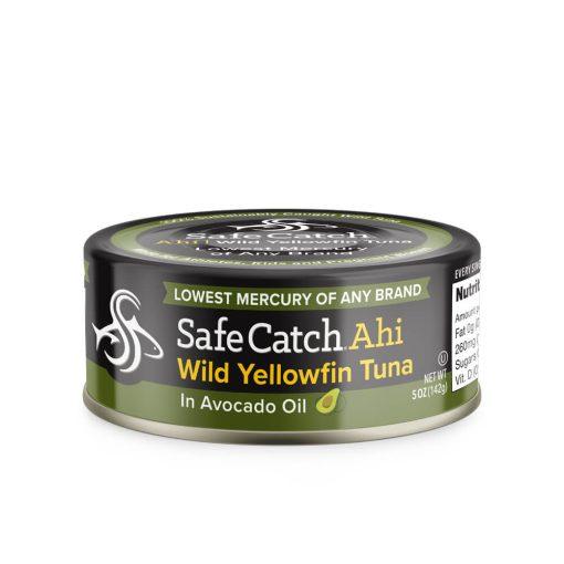 Wild Ahi Yellowfin Tuna in Avocado Oil Can Front