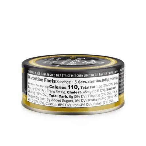 Wild Ahi Yellowfin Tuna in Extra Virgin Olive Oil Can Nutrition