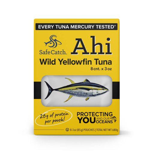 Wild Ahi Yellowfin Tuna Pouch 8 Pack