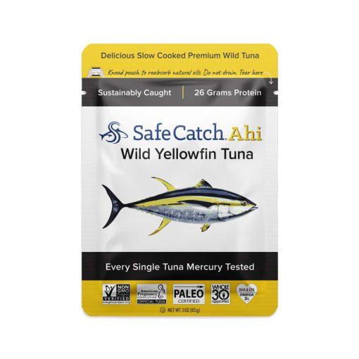 Wild Ahi Yellowfin Tuna Pouch Front