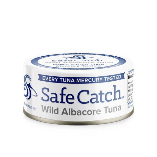 Wild Albacore Tuna Can Front