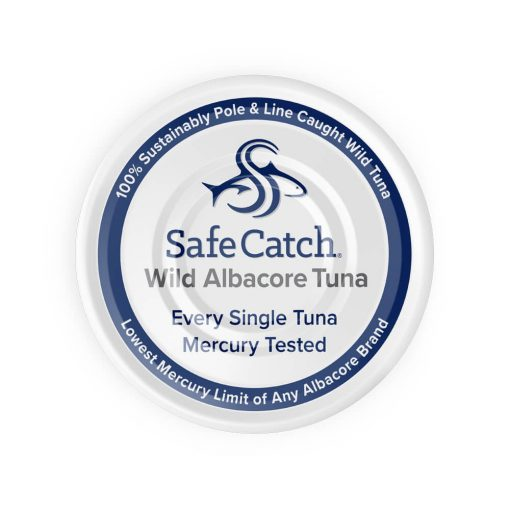 Wild Albacore Tuna Can Top