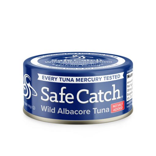 Wild Albacore Tuna No Salt Added Can Front