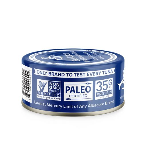 Wild Albacore Tuna No Salt Added Can Lockups UPC