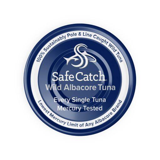 Wild Albacore Tuna No Salt Added Can Top
