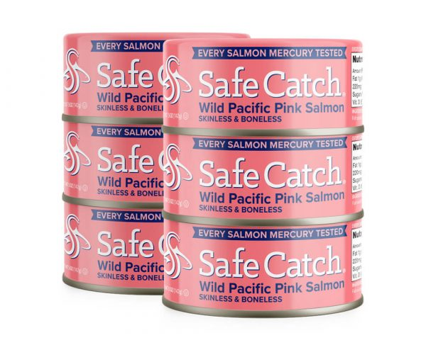 Wild Pacific Pink Salmon Can Stack