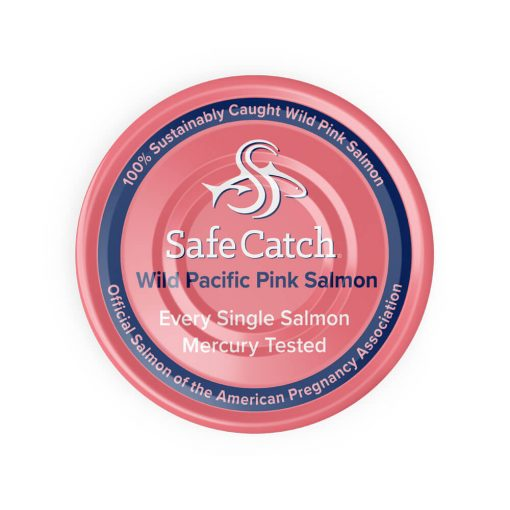 Wild Pacific Pink Salmon Can Top