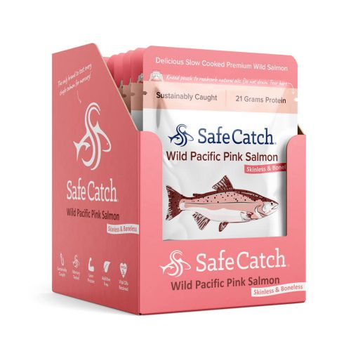 Wild Pacific Pink Salmon Pouch Caddy